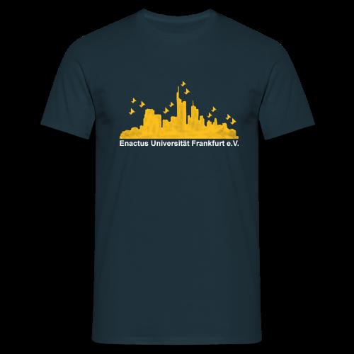 Männer T-Shirt: Skyline  - Männer T-Shirt