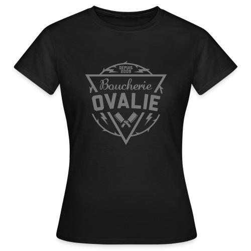 Boucherie Ovalie Depuis 2009 (F) - T-shirt Femme
