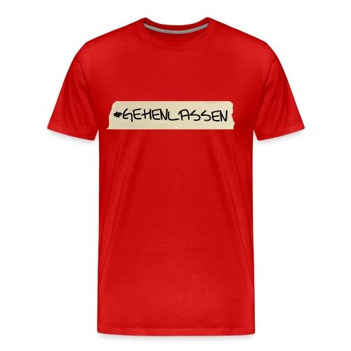 T-Shirt #abgehen - Männer Premium T-Shirt