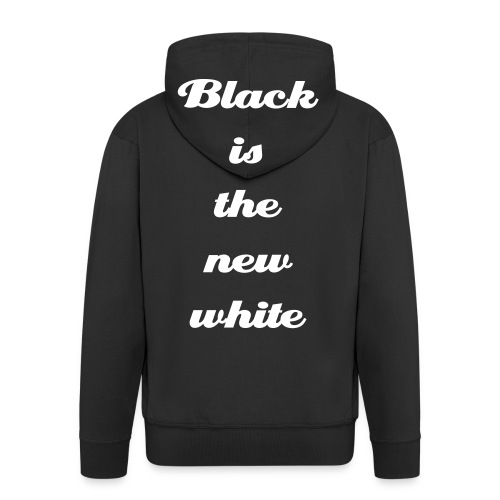 Black is the new white? - Premium Hettejakke for menn