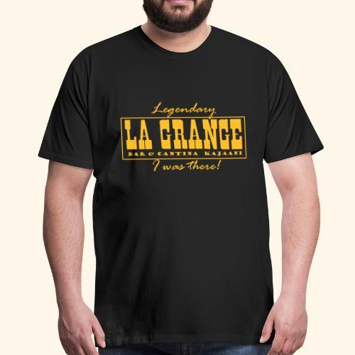 La Grange - Miesten premium t-paita