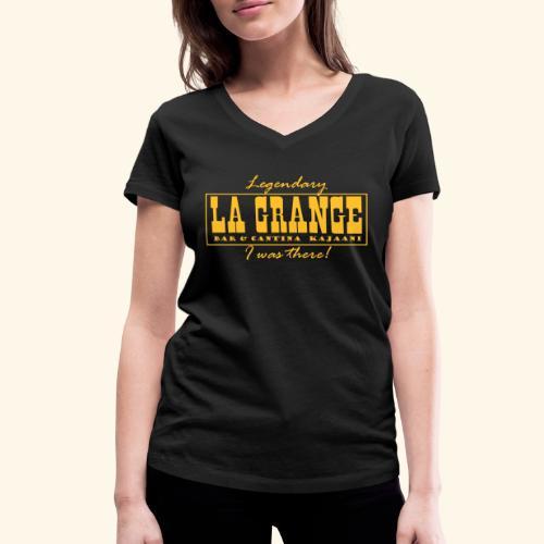 La Grange - Stanley & Stellan naisten v-aukkoinen luomu-T-paita