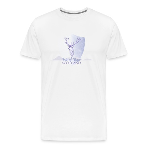 Isle of Skye Stag Tee - Men's Premium T-Shirt