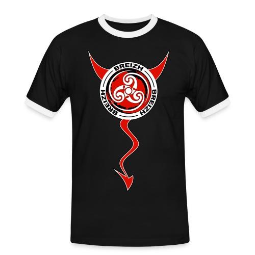 Breizh devil - T-shirt contrasté Homme