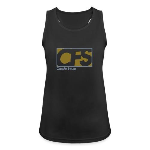 CFS - embleem Goud-Silver Dames - Vrouwen tanktop ademend
