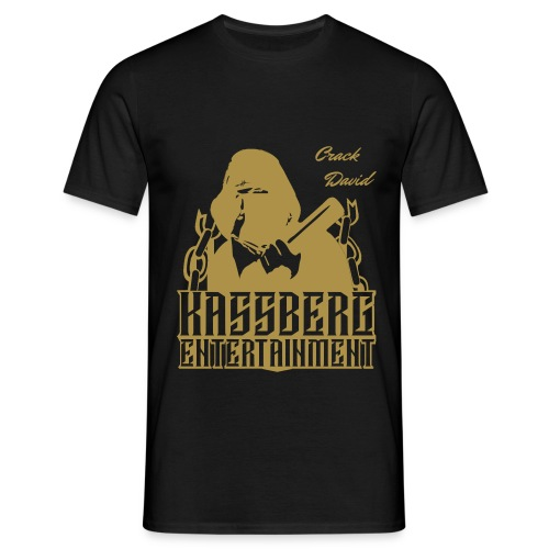 GOLD Baseballboy  T-Shirt ''CrackDavid'' - Männer T-Shirt