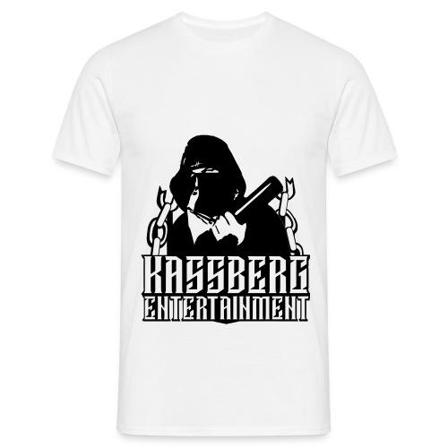 Schwarz Baseballboy  T-Shirt  - Männer T-Shirt