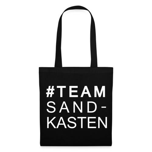 Tasche #TEAM SANDKASTEN  - Stoffbeutel