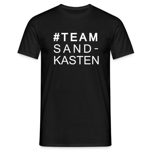 Herren-Shirt: #TEAM Sandkasten - Männer T-Shirt