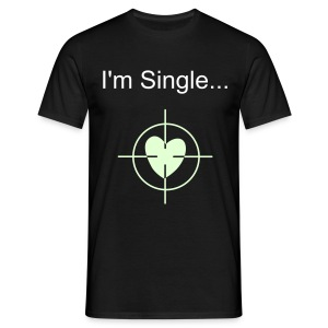I'm Single - Men's T-Shirt