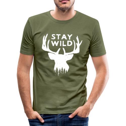 Stay Wild T-Shirt ufficiale - Maglietta aderente da uomo