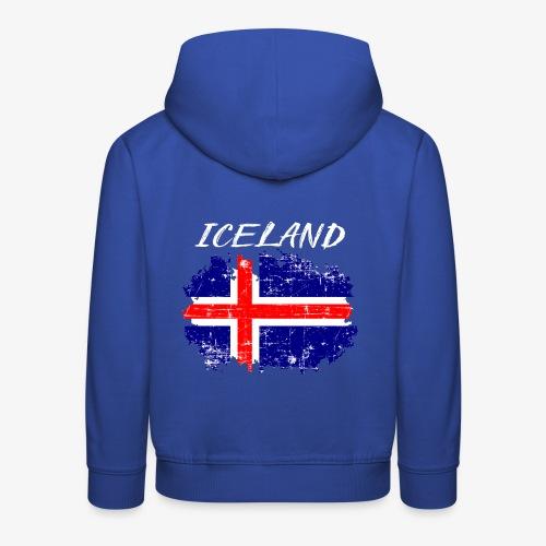 Kinder Premium Hoodie Iceland Island - Kinder Premium Hoodie