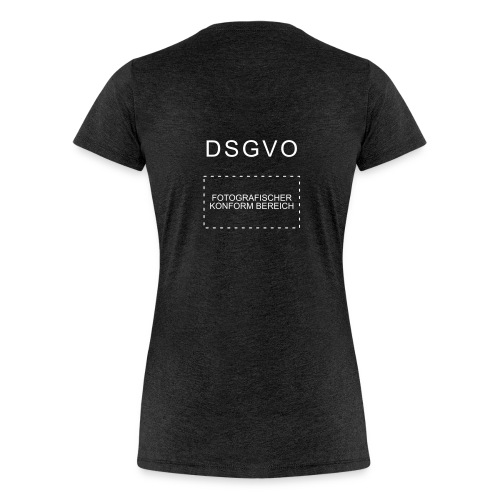 Frauen Premium T-Shirt - Fotografischer Konformbereich
