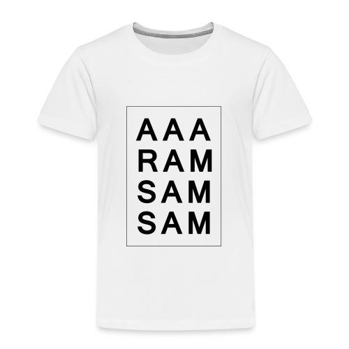 Kindershirt: Aramsamsam (98-140)  - Kinder Premium T-Shirt