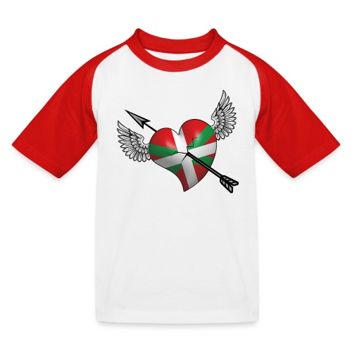 Cœur Basque - T-shirt baseball Enfant