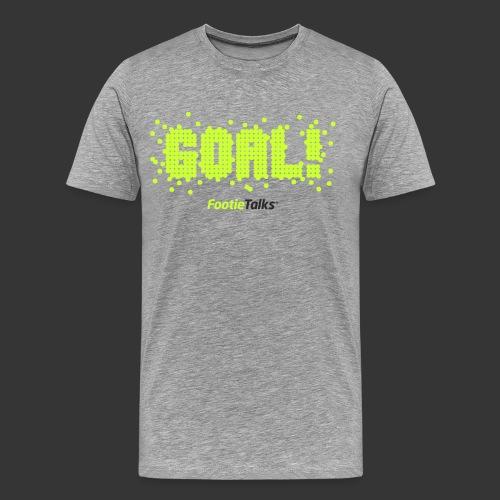 FootieTalks® GOAL!  - Men's Premium T-Shirt