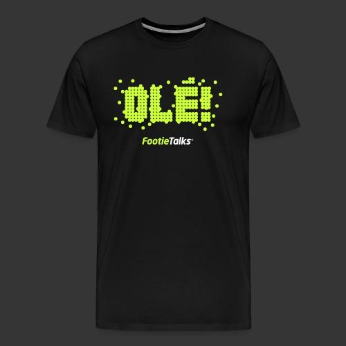 FootieTalks® - Ole - Men's Premium T-Shirt
