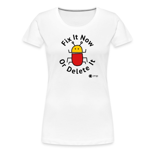 Fix It Now, women's - Premium-T-shirt dam
