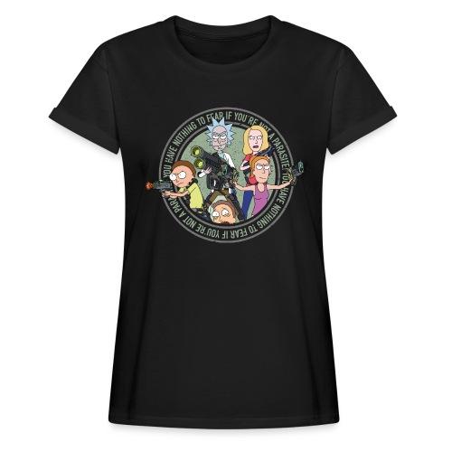 Total Rickall - Frauen Oversize T-Shirt