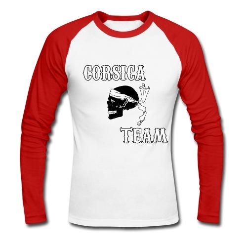Corsica Team - T-shirt baseball manches longues Homme