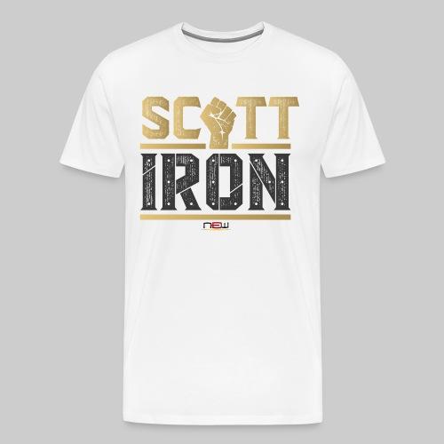 T-Shirt Scott Iron - hell - Männer Premium T-Shirt