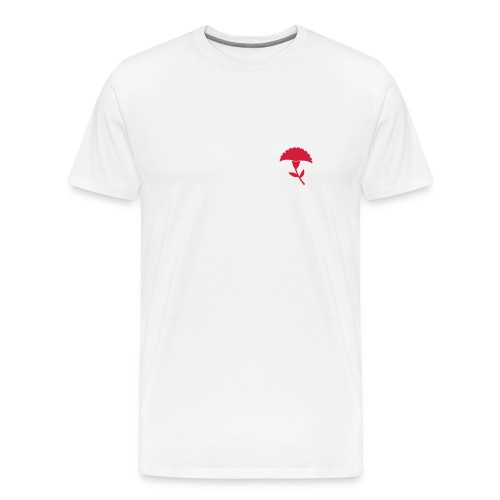 t-shirt cravo vermelho - T-shirt Premium Homme