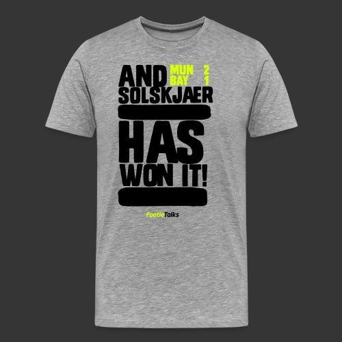 FootieTalks® - United 1999 - Men's Premium T-Shirt