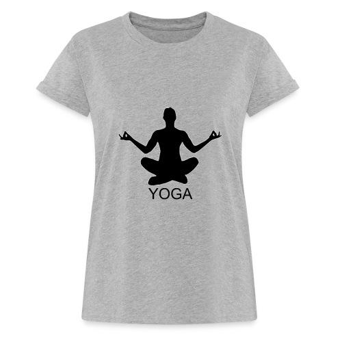 YOGA Tee - Frauen Oversize T-Shirt