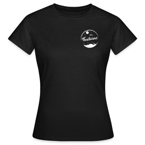 Woman Shirt Fluxilicious BLACK - Vrouwen T-shirt