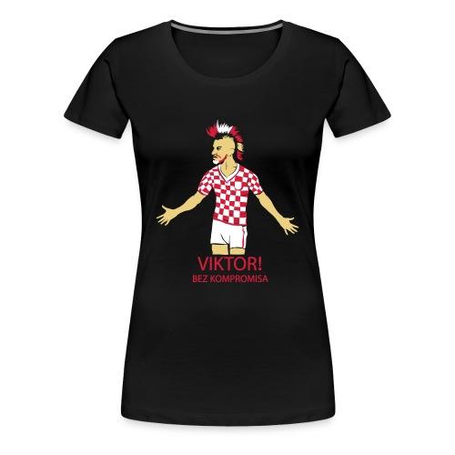 Croatia - Frauen Premium T-Shirt