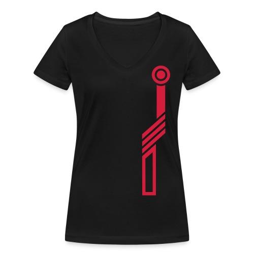 Elektric-Light-1 T-Shirts - Frauen Bio-T-Shirt mit V-Ausschnitt von Stanley & Stella