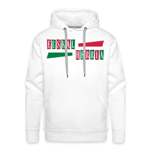 Euskal Herria Pays Basque - Sweat-shirt à capuche Premium pour hommes
