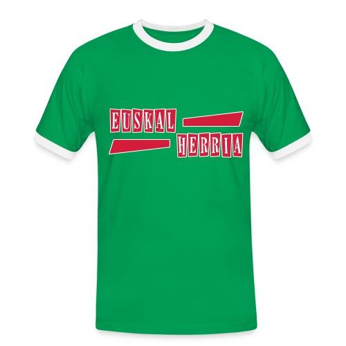 Euskal Herria Pays Basque - T-shirt contrasté Homme