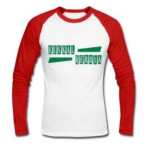Euskal Herria Pays Basque - T-shirt baseball manches longues Homme
