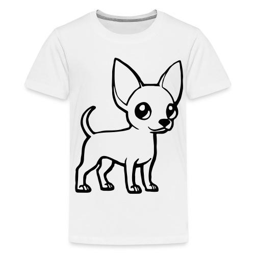 Chihuahua Korthaar Shirt - Teenager Premium T-shirt