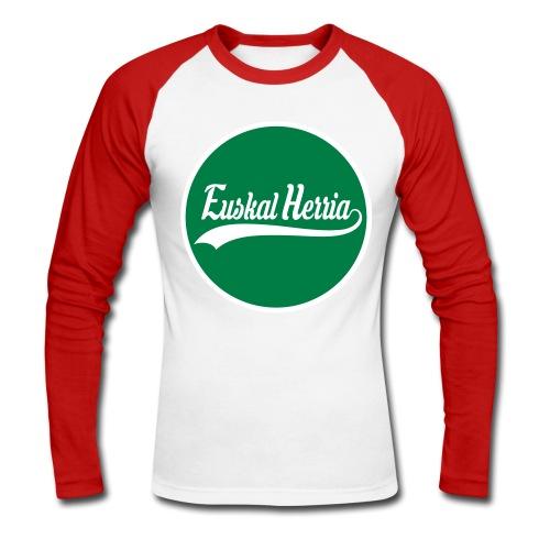 Basque vector design - T-shirt baseball manches longues Homme