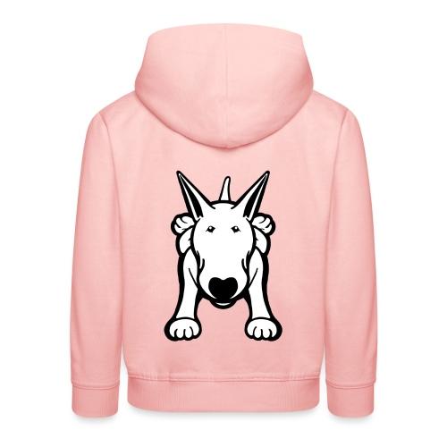 Original Bull Terrier Crawl  - Kids' Premium Hoodie