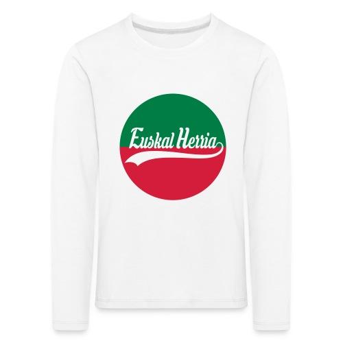 Basque vector design - T-shirt manches longues Premium Enfant
