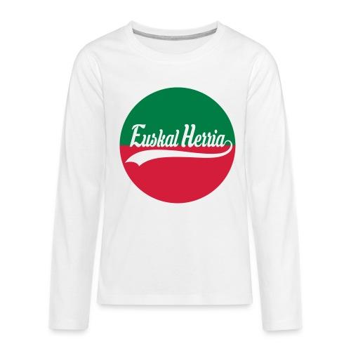 Basque vector design - T-shirt manches longues Premium Ado