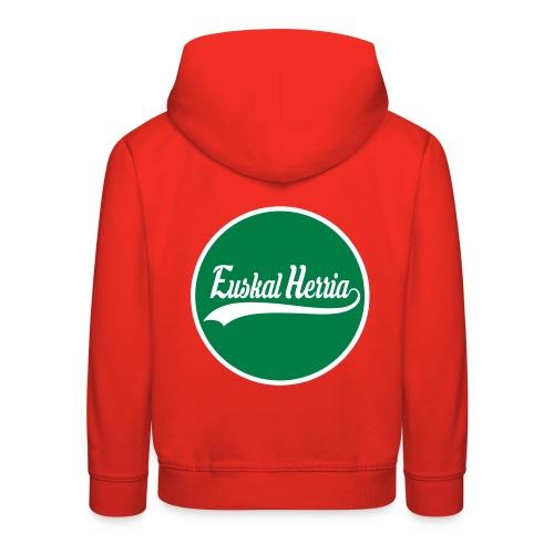 Basque vector design - Pull à capuche Premium Enfant