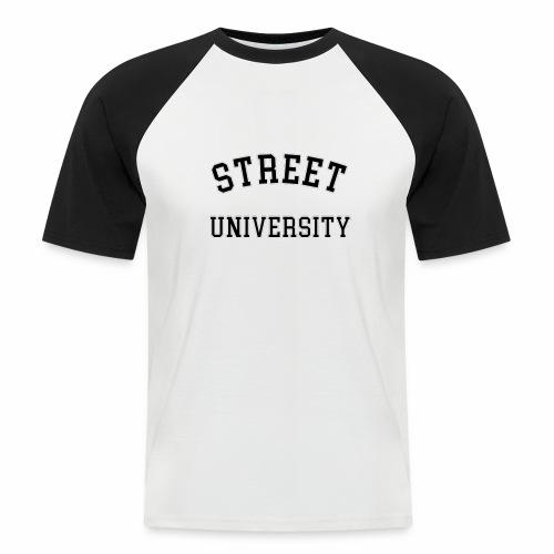 Street University T-shirt - Männer Baseball-T-Shirt