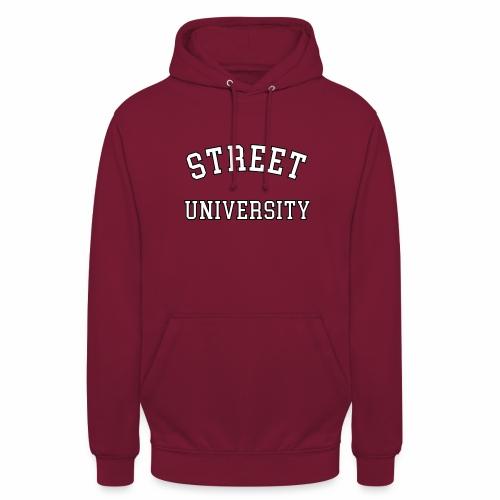 Sreet University Hoodie Rot - Unisex Hoodie