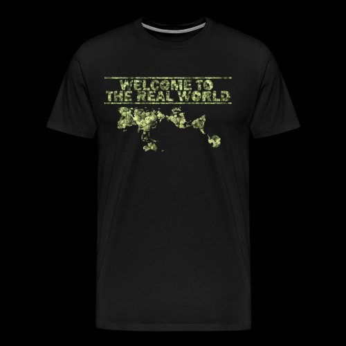 the real world - T-shirt Premium Homme
