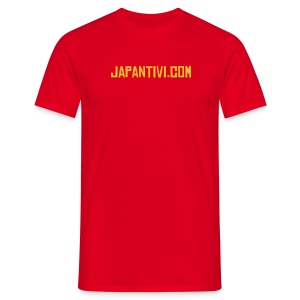 T-shirt rouge Japan Tivi - T-shirt Homme