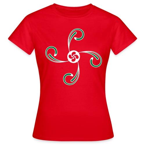 Croix du Pays Basque - T-shirt Femme