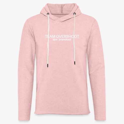 Hoodie mit Schriftzug - Leichtes Kapuzensweatshirt Unisex