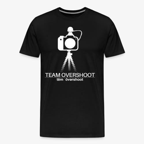 Shirt mit grossem Logo - Männer Premium T-Shirt