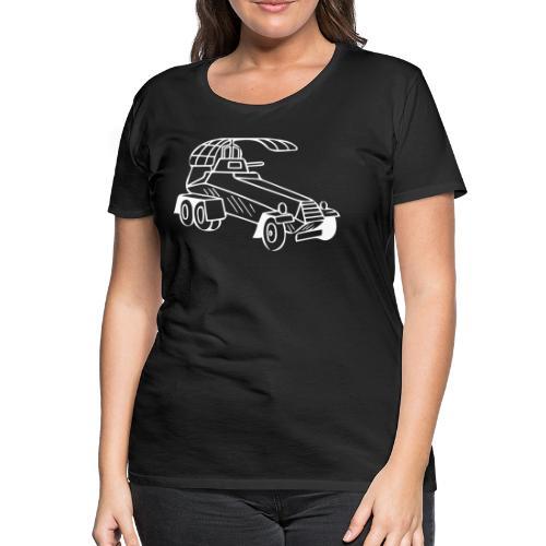 Panzerwagen - Frauen Premium T-Shirt