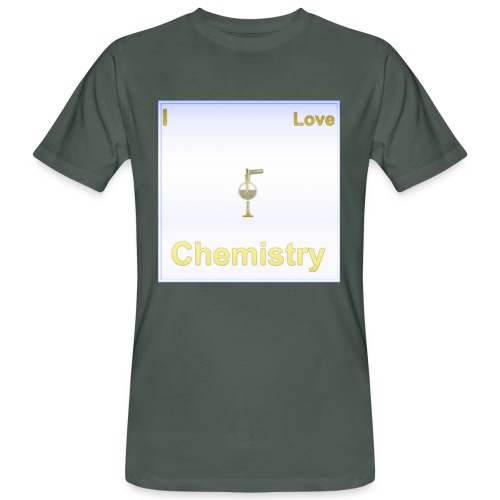I Love Chemistry - Männer Bio-T-Shirt