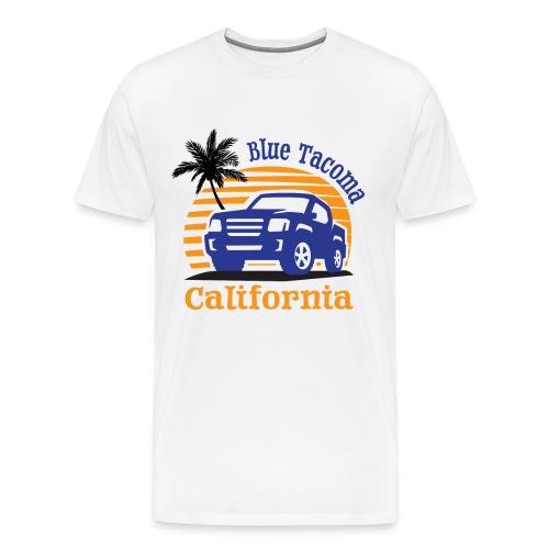 Blue Tacoma Men's T-Shirt - Men's Premium T-Shirt